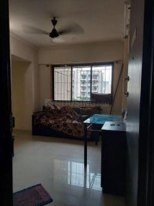 Gallery Cover Image of 650 Sq.ft 1 BHK Apartment for rent in Glory Puranik Home Town, Kasarvadavali, Thane West for 16500