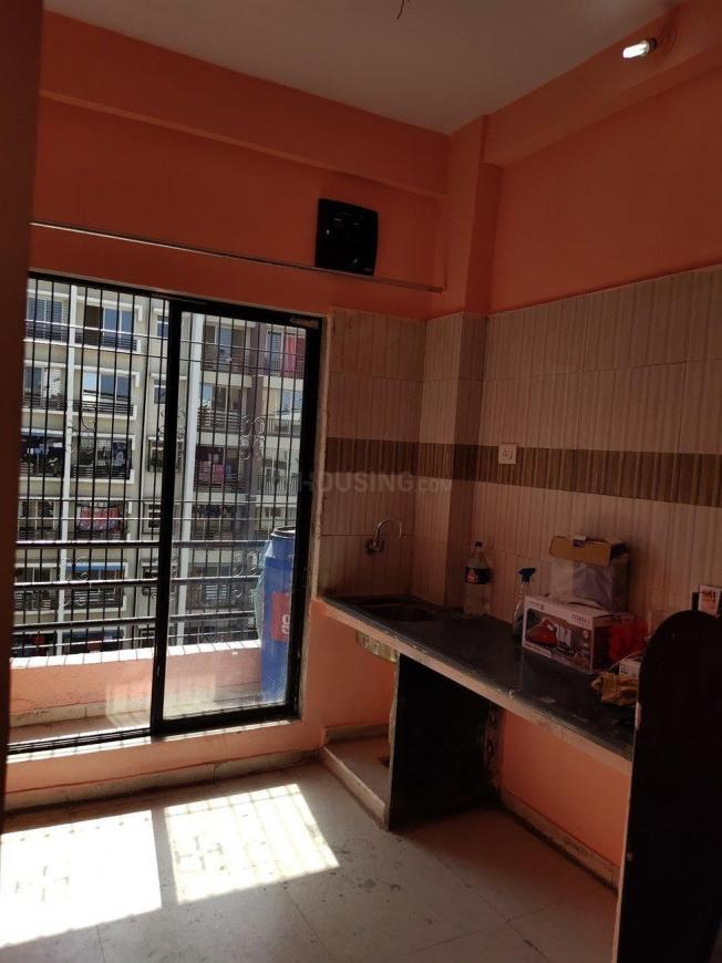 Kitchen Image of 585 Sq.ft 1 BHK Apartment for rent in Boisar for 5000