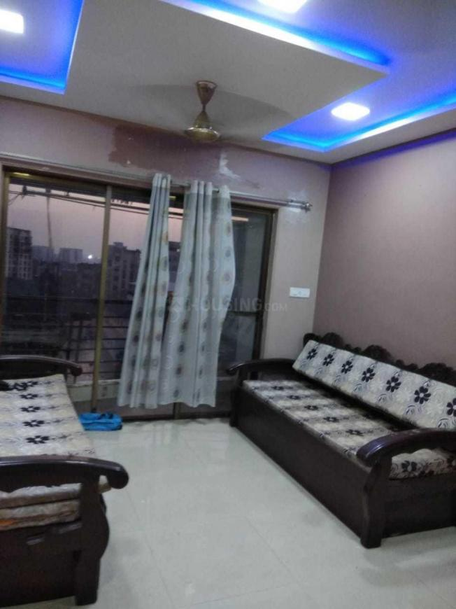 Living Room Image of 500 Sq.ft 1 BHK Apartment for rent in Sakinaka for 42000