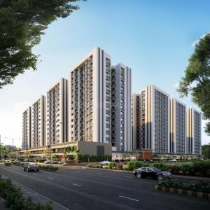 Gallery Cover Image of 1555 Sq.ft 3 BHK Apartment for buy in Shaligram Prime, Bopal for 4820500