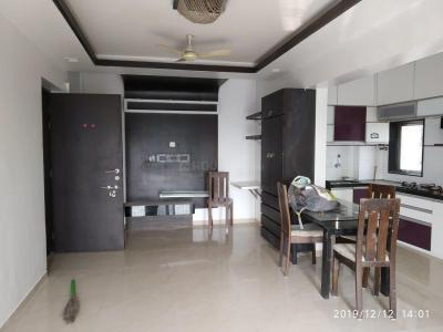 Gallery Cover Image of 710 Sq.ft 1 BHK Apartment for rent in Airoli for 26000