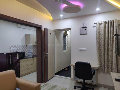 Gallery Cover Image of 400 Sq.ft 1 BHK Apartment for rent in Koramangala for 26000