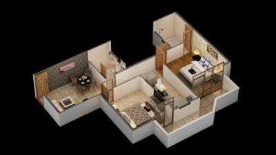 Gallery Cover Image of 1060 Sq.ft 2 BHK Apartment for buy in Pyramid Pride, Sector 76 for 2600000