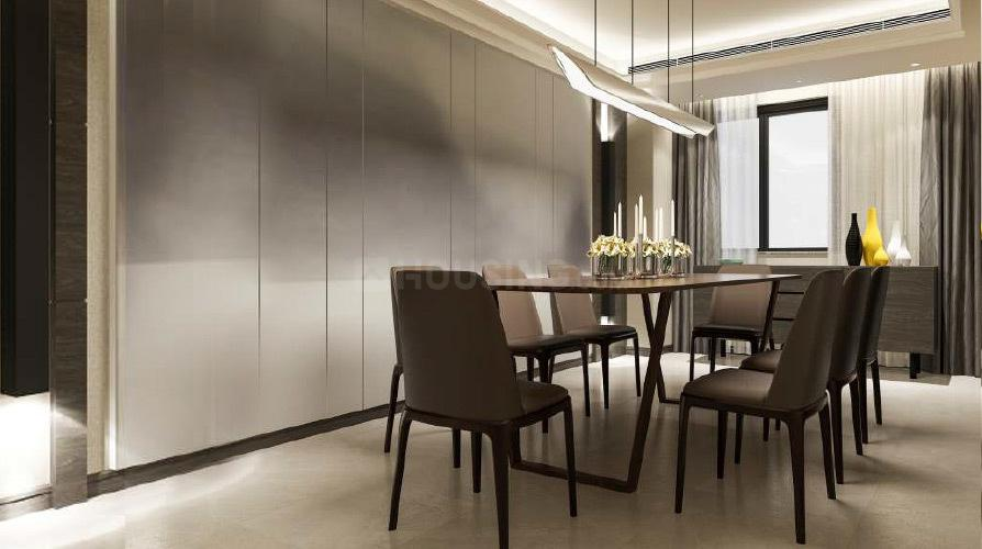 Dining Area Image of 1020 Sq.ft 2 BHK Apartment for rent in Wakad for 22000