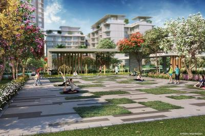Gallery Cover Image of 1026 Sq.ft 2 BHK Apartment for buy in Godrej Palm Retreat, Sector 150 for 9700000