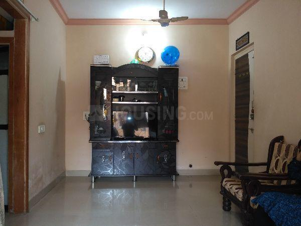 Living Room Image of 675 Sq.ft 1 BHK Apartment for rent in Mumbra for 10000