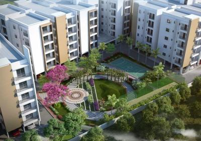 Gallery Cover Image of 1210 Sq.ft 2 BHK Apartment for buy in Isnapur for 3569500