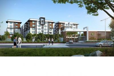 Gallery Cover Image of 1335 Sq.ft 2 BHK Apartment for buy in Fortune Green Golden Oriole, Puppalaguda for 8000000