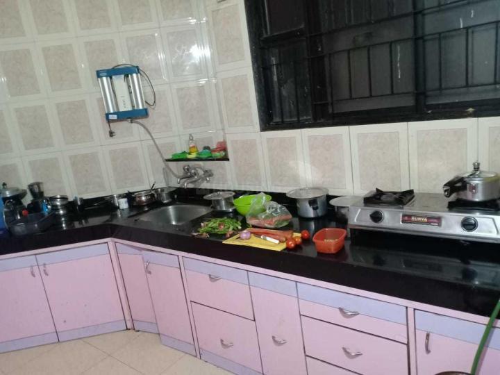 मगरपट्टा सिटी में साई राम पीजी के किचन की तस्वीर