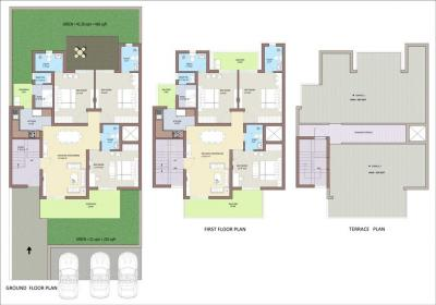 Gallery Cover Image of 1450 Sq.ft 3 BHK Apartment for rent in BPTP Park 81, Sector 81 for 14000
