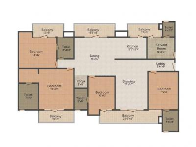 2800 Sqft 4 Bhk Apartment For Sale In The Antriksh Forest Sector 77 Noida Property Id 5449748