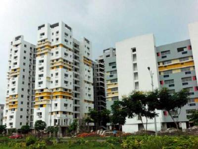 Gallery Cover Image of 1115 Sq.ft 2 BHK Apartment for buy in Fort Sunny Fort, New Town for 6000000