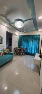 Living Room Image of 650 Sq.ft 1 BHK Apartment for buy in Haware Engineers And Builders Grand Edifice, Malad East for 10400000