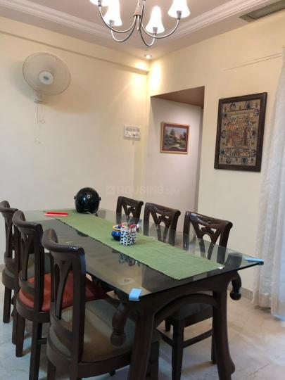 Dining Area Image of 1000 Sq.ft 2 BHK Apartment for rent in Bandra East for 65000