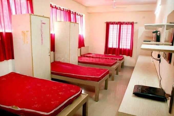 कुदलू गेट में थानु पीजी फॉर जैंट्स में बेडरूम की तस्वीर