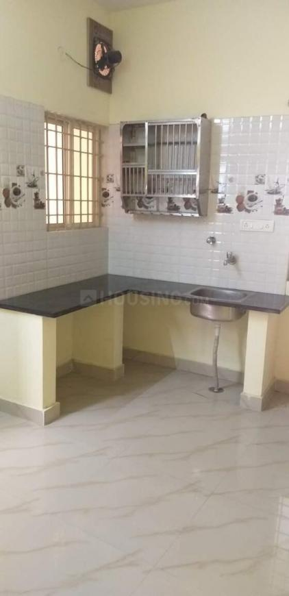 Kitchen Image of 350 Sq.ft 1 RK Independent House for rent in Mahadevapura for 6800