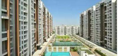 Gallery Cover Image of 705 Sq.ft 1 BHK Apartment for rent in Neelsidhi Amarante, Kalamboli for 12000
