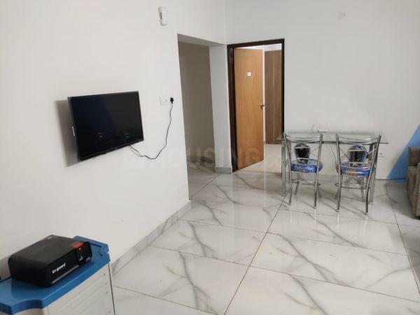 Living Room Image of 1600 Sq.ft 3 BHK Apartment for rent in Mahadevapura for 35000