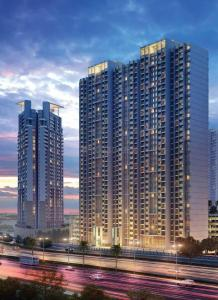 Gallery Cover Image of 910 Sq.ft 1 BHK Apartment for rent in Indiabulls Greens 1, Kon for 6000