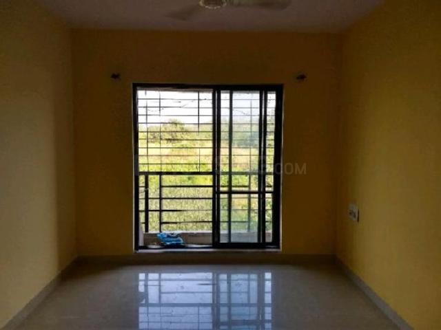 Living Room Image of 600 Sq.ft 1 BHK Apartment for rent in Ghansoli for 14200