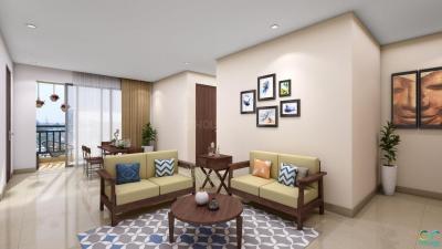 Gallery Cover Image of 612 Sq.ft 1 BHK Apartment for buy in Godrej Prakriti, Sodepur for 2750000