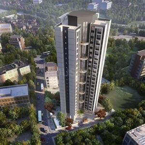 Gallery Cover Image of 660 Sq.ft 1 BHK Apartment for buy in Yogi Ajmera Bliss, Kalyan West for 4249000