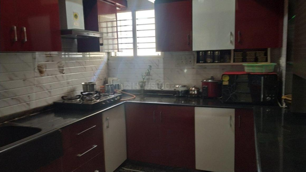 Kitchen Image of 750 Sq.ft 1 BHK Independent House for rent in Padmanabhanagar for 13000