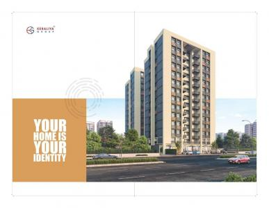 Gallery Cover Image of 873 Sq.ft 3 BHK Apartment for buy in Keraliya Awadh Habitat, Shilaj for 6850000