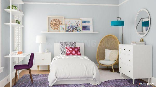Bedroom Image of 1020 Sq.ft 3 BHK Apartment for buy in Suraram for 3774000
