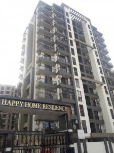Gallery Cover Image of 695 Sq.ft 1 BHK Apartment for rent in Happy Home Residency, Mira Road East for 15500