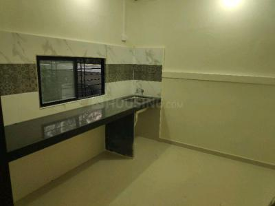 Kitchen Image of 500 Sq.ft 1 RK Independent Floor for rent in Kharadi for 9000
