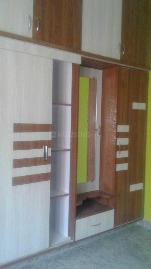 Bedroom One Image of 1000 Sq.ft 2 BHK Independent House for buy in Battarahalli for 7600000