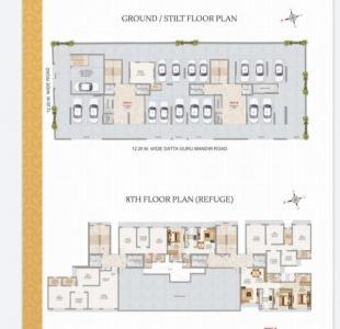 Gallery Cover Image of 912 Sq.ft 2 BHK Apartment for buy in UCC Adityaraj Enclave, Ghatkopar East for 15600000