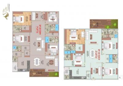 Gallery Cover Image of 4729 Sq.ft 4 BHK Apartment for buy in Maruti The Lake Towers, Madhapur for 40669400
