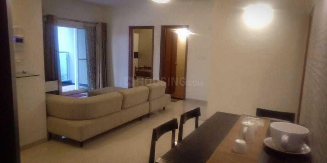 Living Room Image of 1600 Sq.ft 3 BHK Apartment for rent in Adugodi for 60000