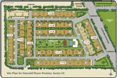 Gallery Cover Image of 2060 Sq.ft 3 BHK Apartment for buy in Unitech The Close North, Sector 50 for 15900000