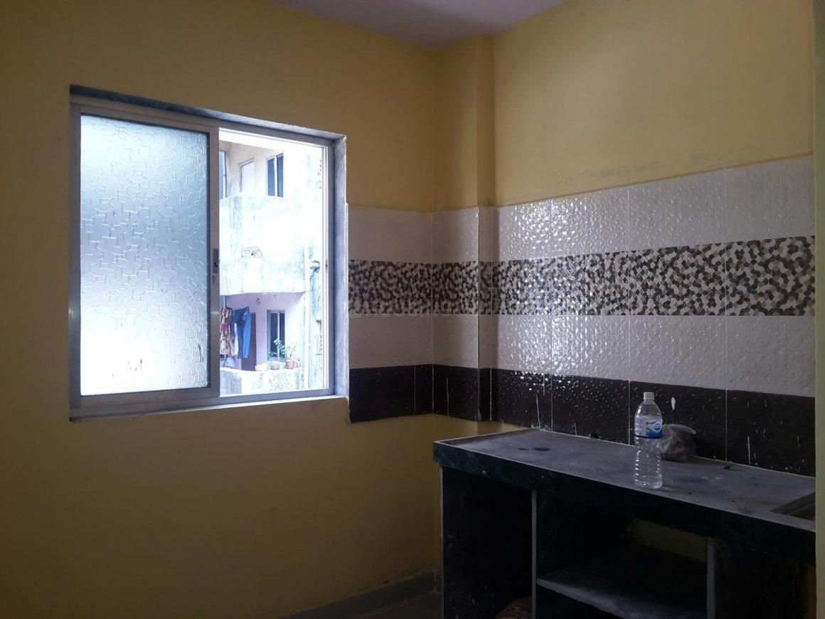 Kitchen Image of 365 Sq.ft 1 RK Apartment for rent in Diva Gaon for 3000