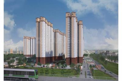 Gallery Cover Image of 1373 Sq.ft 3 BHK Apartment for buy in Prestige Jindal City, Anchepalya for 9500000