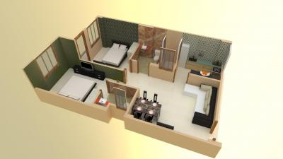 Gallery Cover Image of 900 Sq.ft 2 BHK Apartment for buy in Bhankrota for 2430000