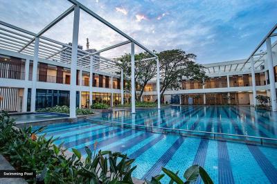 Swimming Pool Image of 1365 Sq.ft 3 BHK Apartment for buy in Shapoorji Pallonji Parkwest Phase 2, Jagajeevanram Nagar for 13000000