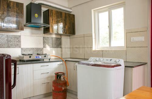 Kitchen Image of Babu Nest 105 in HBR Layout