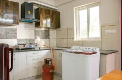 Kitchen Image of Babu Nest 105 in HBR Layout