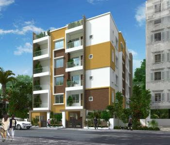 Gallery Cover Image of 1385 Sq.ft 3 BHK Apartment for buy in Indira Nagar for 16600000