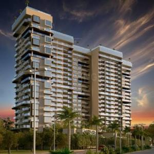 Gallery Cover Image of 1402 Sq.ft 2 BHK Apartment for buy in Unicca Emporis, Madhura Nagar for 7800000