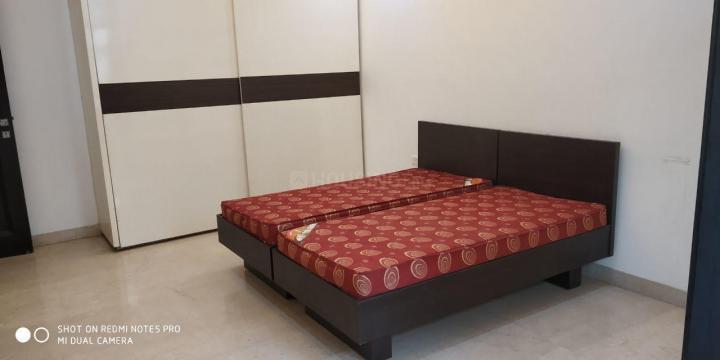 डीएलएफ़ फेज 2 में पीजी के बेडरूम की तस्वीर