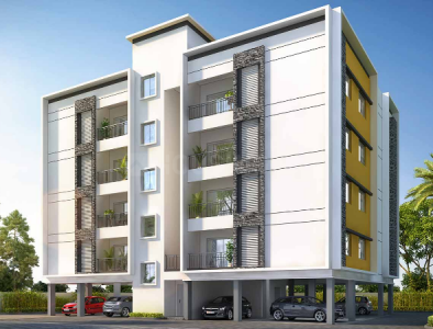 Gallery Cover Image of 1107 Sq.ft 3 BHK Apartment for buy in Casagrand Woodside, Kolapakkam for 5535000