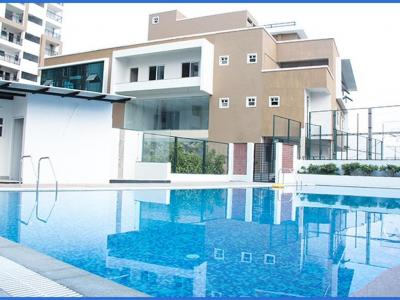 Gallery Cover Image of 2150 Sq.ft 3 BHK Apartment for buy in SMR Vinay Harmony County, Bandlaguda Jagir for 12600000