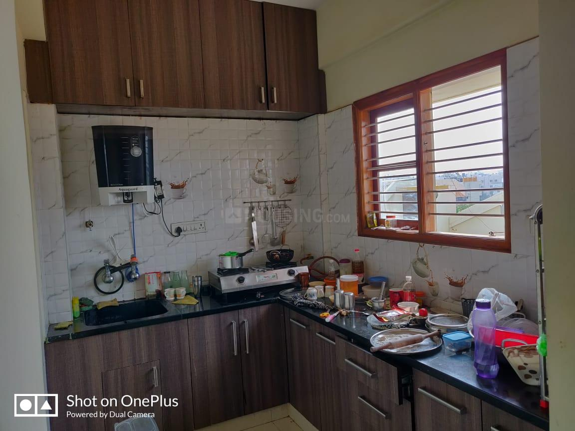 Kitchen Image of 1150 Sq.ft 2 BHK Apartment for rent in RR Nagar for 14000