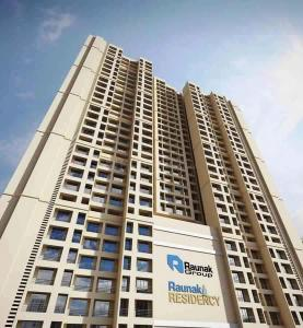 Gallery Cover Image of 625 Sq.ft 1 BHK Apartment for buy in Raunak Residency, Thane West for 6055000