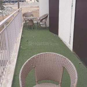 Balcony Image of 1030 Sq.ft 3 BHK Apartment for buy in Adore Happy Homes Exclusive, Sector 86 for 2630000